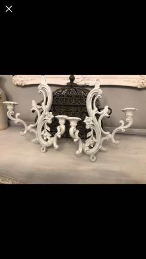 "Set Of Two Shabby Chic Wall Sconces 15""X11"" for Sale in Bristow, VA"