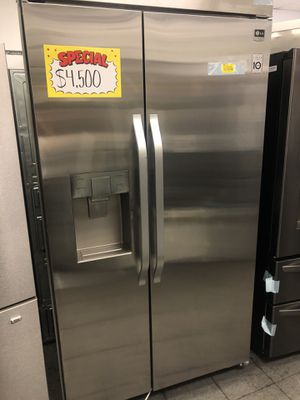 LG stainless steel built-in refrigerator for Sale in Los Angeles, CA