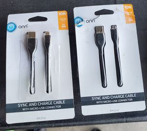 New sync & charge cable 10 ft for Sale in Riverside, CA