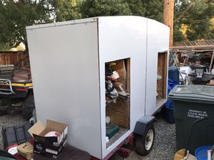 Unfinished Camp Trailer (materials included to finish) for Sale in Concord, CA