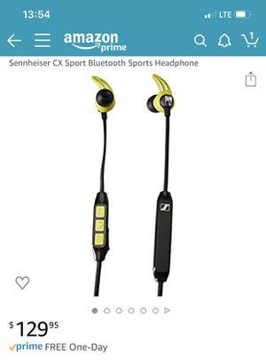 Sennheiser CX Sport Bluetooth Sports Headphone wireless for Sale in North Royalton, OH