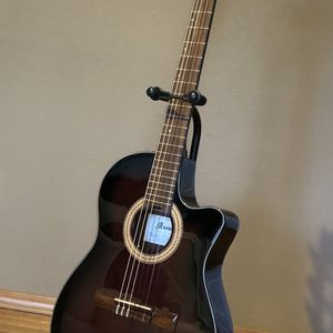Ibanez GA35TCEDVS Classical/Acoustic/Electric Guitar - Pristine Like NEW Condition. Dark Violin Burst. New Nylon Strings. for Sale in Federal Way, WA