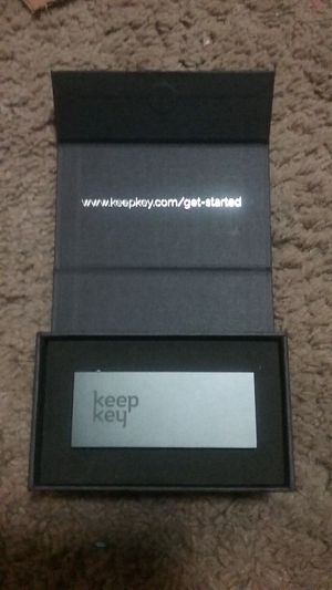 Keepkey hardware wallet for Sale in Oroville, CA