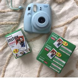 Instax mini 8 With 99 Photo Strips for Sale in Aurora,  CO