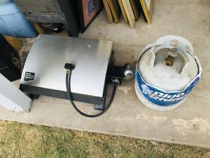 Camping stove and propane tank - $50 for both for Sale in Glendale, AZ
