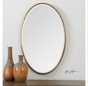 Uttermost Herleva Oval Antique Gold Mirror for Sale in Concord, NC