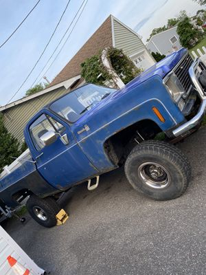 1978 Chevy Silverado k-10 short bed. Hard to find trade for boat for Sale in Barnegat, NJ