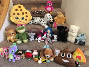 Shopkins, My Little Pony, Toy Stuffies, Mechanical Stuffies, and Squishables ALL for One Low Price for Sale in Gilbert, AZ