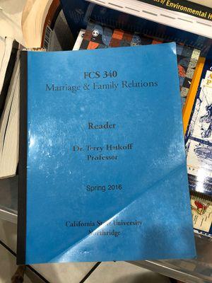 Csun FCS 340 book for Sale in Los Angeles, CA