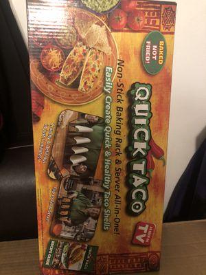 Quick taco baking rack for Sale in Corona, CA