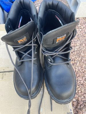 Timberland work boots. Men's size 9.5 for Sale in Las Vegas, NV