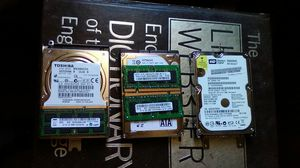 Three hardrives and three sticks of RAM one id one sata hardrives for more info just ask. for Sale in Summerfield, FL