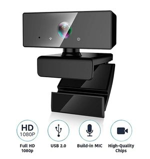 Firm Price! Brand New in a Box 1080P HD Plug and Play Webcam w/Microphone, Located in North Park for Pick Up or Shipping Only! for Sale in San Diego, CA