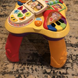 Fisher Price Price Standing Activity Table for Sale in Villa Park, IL