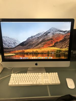 27 INCH 2013 THIN iMac i5 Quad core 16GB RAM AND 2GB NVDIA VIDEO CARD for Sale in Brooklyn, NY