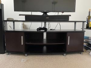 (!!Has to go NOW!!) TV stand wooden 50 inches wide for Sale in Lowell, MA