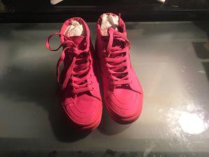 Hot pink vans high tops for Sale in Orlando, FL
