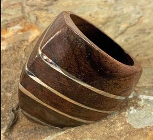 Modern Sterling & Wood Ring for Sale in Roswell, GA
