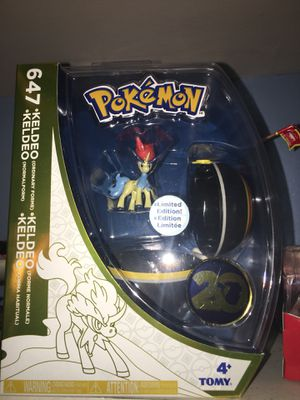 Poke Mon Keldeo Limited Edition for Sale in South Gate, CA