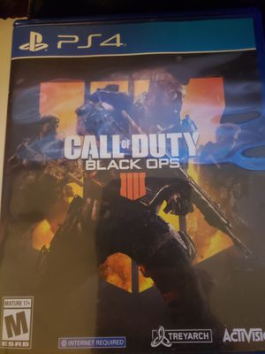 Black ops 4 ps4 for Sale in Renton, WA