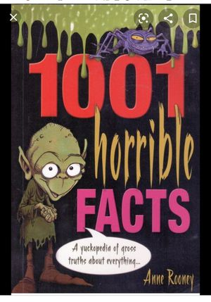 1001 Horrible Facts - EUC for Sale in Kentwood, MI