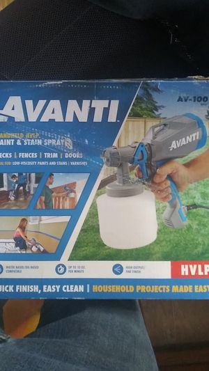 Avanti handheld HVLP paint and stain sprayer for Sale in Loma Linda, MO