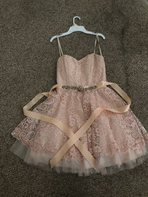 Camille Le Vei Short prom dress (Light Pink) for Sale in FL, US