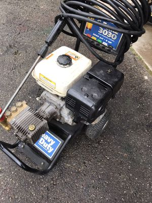 Honda pressure washer 9 hp over 3000 psi Works well for Sale in Waterford Township, MI