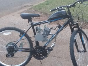 Motorized bicycle $600 electric bicycle $150 missing battery pack and charger Mongoose bicycle $100 for Sale in Montevallo, AL