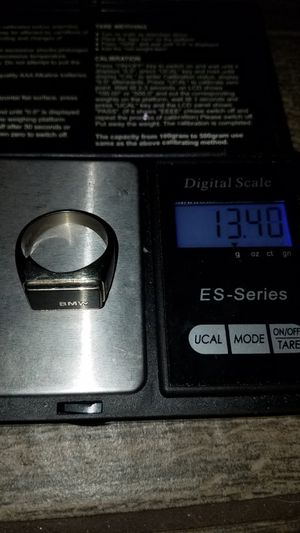 10k real white gold ring solid. size 10 firm price. firm price. hablo español for Sale in Phoenix, AZ