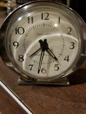 Baby ben alarm clock for Sale, used for sale  St. Louis, MO