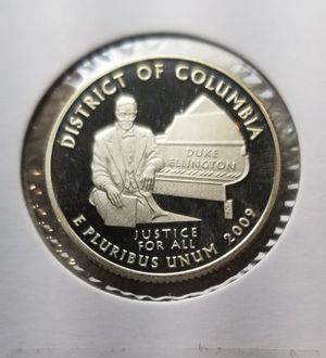 2009 District of Columbia D-Cam Proof Quarter for Sale in Las Vegas, NV
