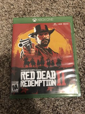 Red Dead Redemption 2 Xbox One for Sale in Fort Worth, TX