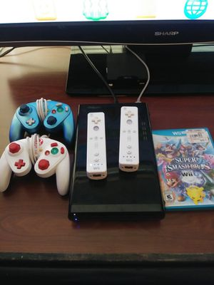 Nintendo WII U Game System with Controllers and Game for Sale in Marysville, WA