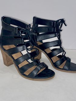 Gladiator Block Heel Sandal - size 6 for Sale in Boston,  MA