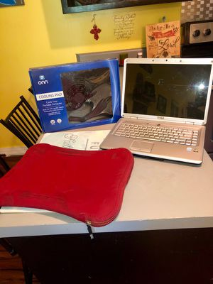 Dell laptop, case, and brand new cooling fan for Sale in New Albany, MS
