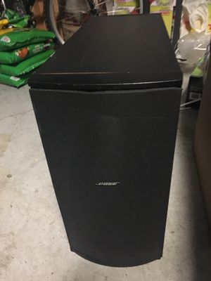 Bose PS 28 Powered Subwoofer for Sale in Tampa, FL
