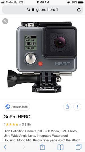 GoPro Hero for Sale in Phoenix, AZ