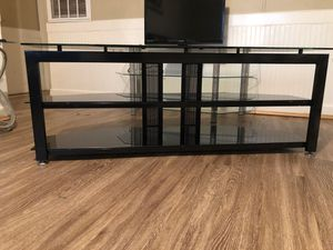 Black tv stand for Sale in Benson, NC