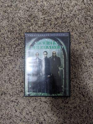 Matrix reloaded dvd for Sale in Hillsboro, OR