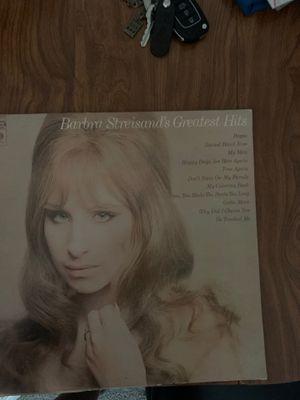 Barbra Streisand's Greatest Hits album for Sale in Mount Laurel Township, NJ