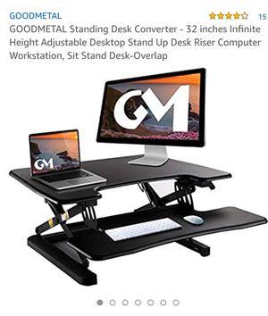 Goodmetal Standing Desk for Sale in Rancho Cordova, CA