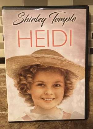Shirley Temple Heidi DVD for Sale in Rochester, NY