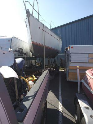30ft Briton Chance sailboat on trailer no mast in oxnard for Sale in Lake Arrowhead, CA