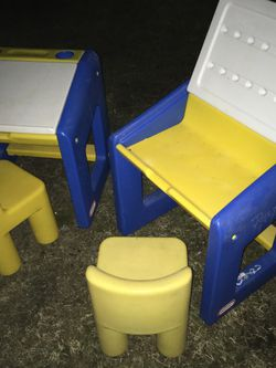 Kids little tykes work desk with chairs only $25 each for Sale in Glen Burnie,  MD