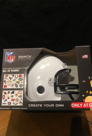 NFL Snack Helmet for Sale in Simi Valley, CA