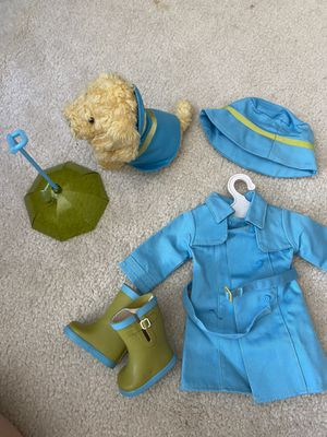 American Girl Doll Rain Outfit for Doll & Pet!! for Sale in Mission Viejo, CA