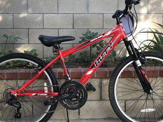 "Huffy Highland 24"" Youth Mountain Bike - Red for Sale in Glendora,  CA"