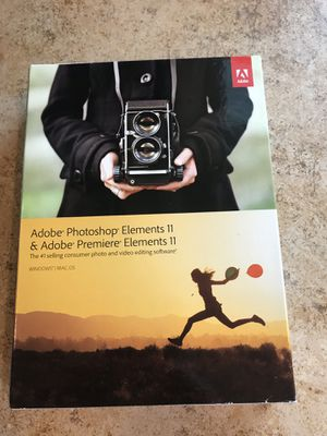 Photoshop elements 11 for Sale in Newberg, OR