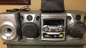 Phillips stereo system for Sale in Burleson, TX